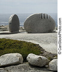 Memorial to victims of swissair flight 111, peggy's cove, ns