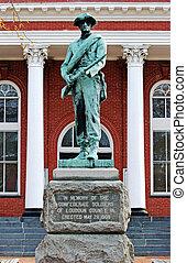 Memorial to the Loudoun County Virginia Confederate Soldiers.