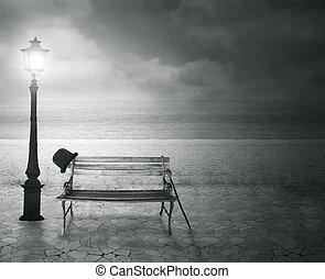 Memories - Beautiful vintage artistic imagine at the sea at ...