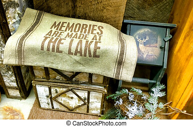 memories blanket - memories are made at the lake blanket