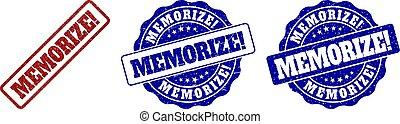 MEMORIZE! Grunge Stamp Seals
