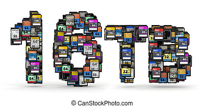 Memory cards capacity - 16TB capacity numbers from many ...