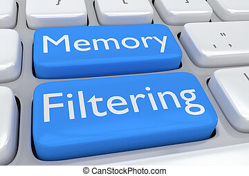 Memory Filtering software concept