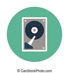 memory flat icon