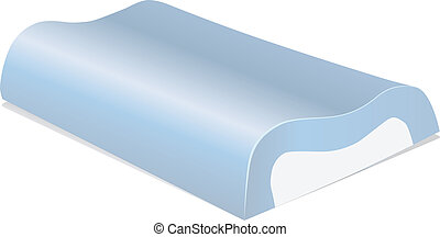 Memory Foam Pillow - Pillow preserving curves of the human ...
