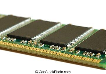 Isolated memory module