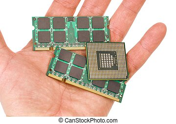 Memory modules and processor for laptops