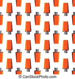 Memory Stick Seamless Pattern