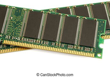 Memory - Isolated memory modules