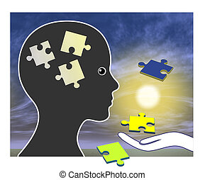 Recovering memories after brain damage or injury through rehabilitation