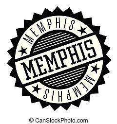 Memphis black and white badge