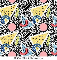 Memphis pattern 80s
