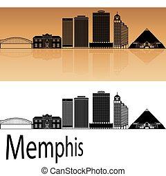 Memphis skyline.eps