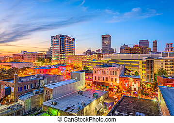memphis, tennessee, beale, rue