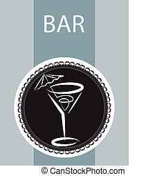 menükarte, gasthaus, design, bar