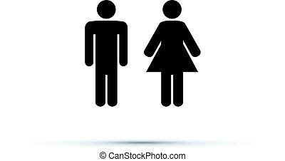 men and women toilet sign