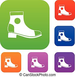 Men boot set collection