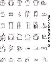 Men clothes set