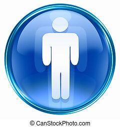 men icon blue