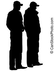 Men in police uniform - People of special police force on ...