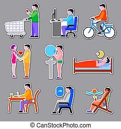 men life stickers