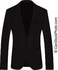 Men suit vector illustration