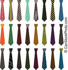Men tie illustration