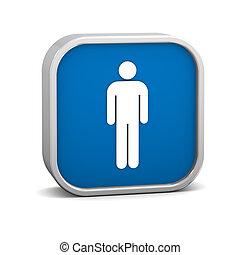 Men Toilets Sign