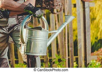 Garden Plants Watering