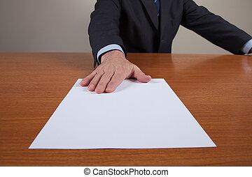 Men With White Sheet