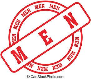 men word stamp2