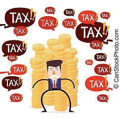 menace, impôt