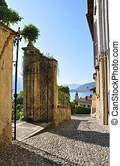 Menaggio town at the famous Italian lake Como