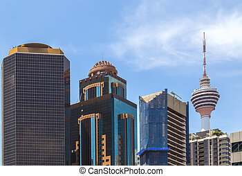 Menara television tower in Kuala Lumpur, Malaysia