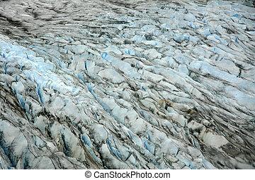 mendenhall gletscher, alaska, usa