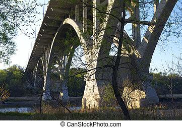 Mendota Bridge Over Minnesota River