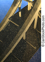 Mendota Bridge Reflection
