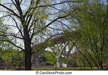 Mendota Bridge Spanning Minnesota River