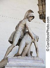 Menelaus Patroclus Loggia dei Lanzi