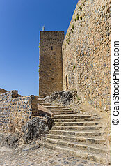 mener, château, étapes, alcaudete, tour
