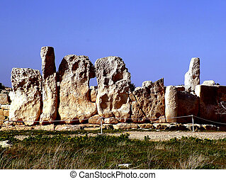 Menhirs - Temple