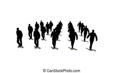 menigte, marsen, 2