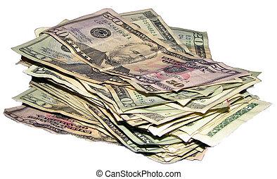 menigte van het geld