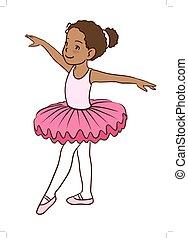 menina, bailarina