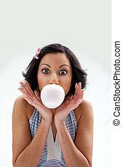 menina, bubblegum