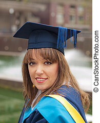menina, graduação