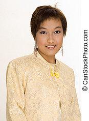menina, malaio, 6