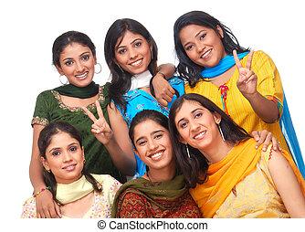 meninas, grupo
