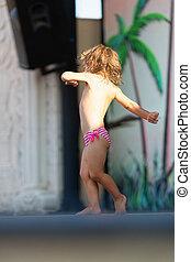 menininha, dançar