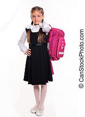 menininha, estudante